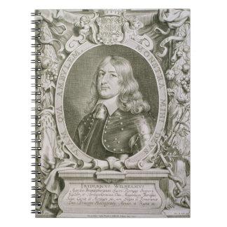 Frederick William (1620-88) Elector of Brandenburg Notebook
