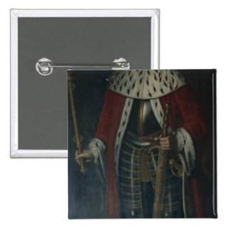 Frederick William I, King of Prussia Regalia 15 Cm Square Badge