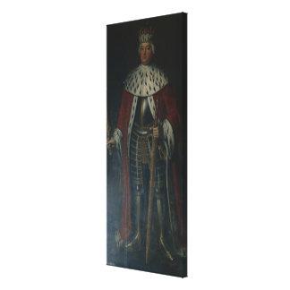 Frederick William I, King of Prussia Regalia Canvas Print