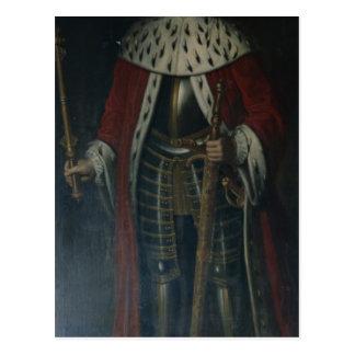 Frederick William I, King of Prussia Regalia Postcard