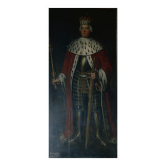 Frederick William I, King of Prussia Regalia Poster