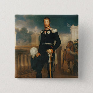 Frederick William III, King of Prussia 15 Cm Square Badge