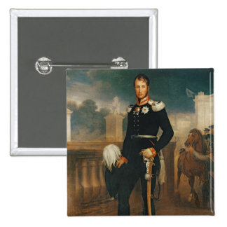 Frederick William III, King of Prussia 15 Cm Square Badge