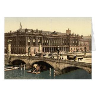 Fredericks Bridge and the Bourse, Berlin, Germany Card