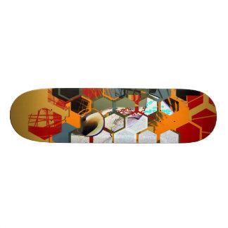 Frederik Bellanger Soleil Rouge Skate Deck