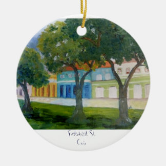 , Frederiksted, St. Croix Christmas Ornament