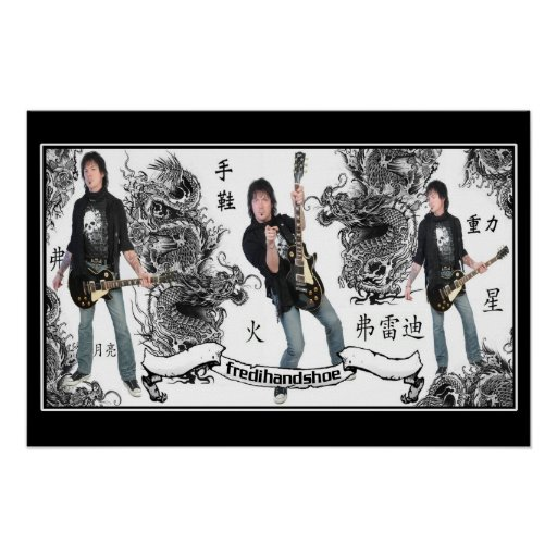 Fredi Handshoe Dragons and Songs Poster