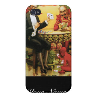 Fredrik The Great ~ Magician Vintage Magic Act iPhone 4/4S Cases