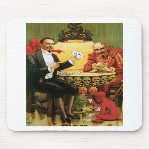 Fredrik The Great ~ Magician Vintage Magic Act Mousepads