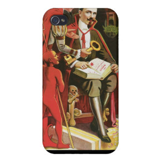 Fredrik The Great ~ Vintage Magic Act iPhone 4/4S Cases