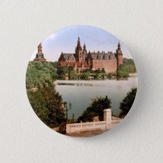 Fredriksborg Castle Copenhagen Denmark 6 Cm Round Badge
