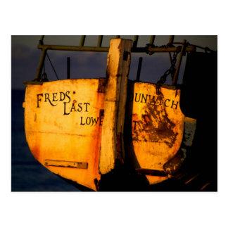 Fred's Last | Dunwich Postcard