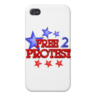 Free 2 Protest Occupy on 30 items iPhone 4/4S Case