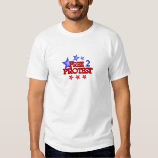 Free 2 Protest Occupy  on 30 items Tshirt