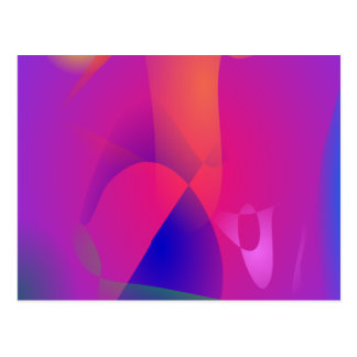 Free Abstract Forms Postcard
