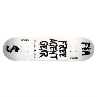 FREE $ AGENT GEAR,skateboard deck