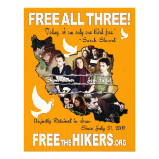 Free All Three Hikers Flyer Design