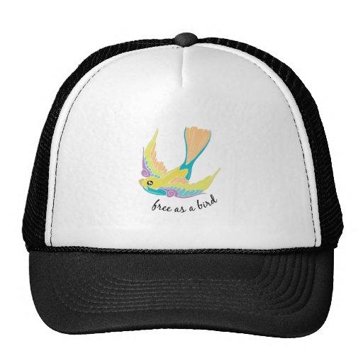 Free As Bird Hat