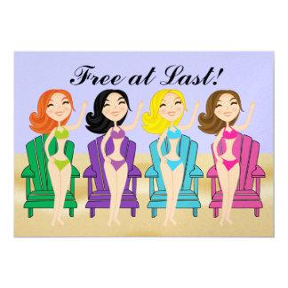 Free at Last! Invitation -  SRF