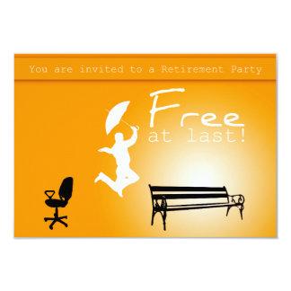 Free at Last! Retirement Party Invitation