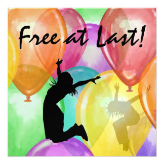 Free At Last -  SRF Invitations