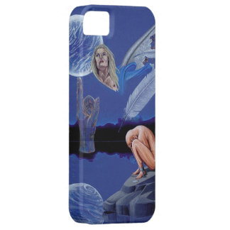 """Free At Last"" Surreal Fantasy Iphone Five Case Barely There iPhone 5 Case"
