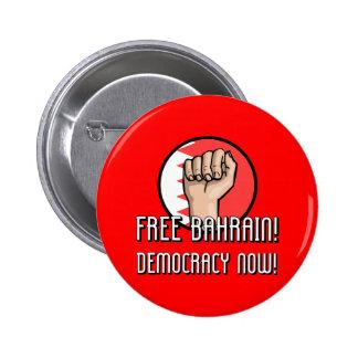 Free Bahrain Pinback Button