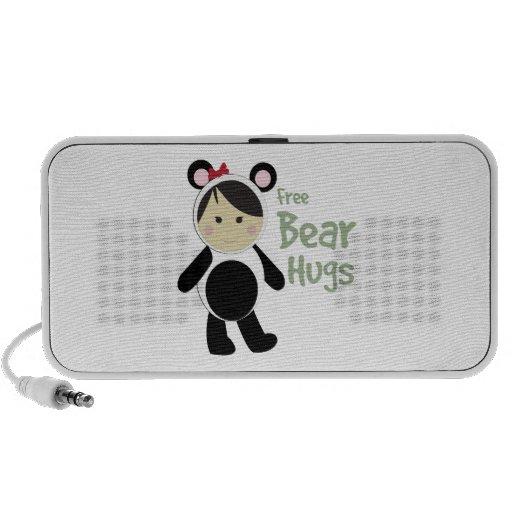 Free Bear Hugs iPod Speaker