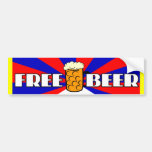 Free Beer Bumper Stickers