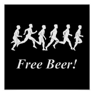 Free Beer! Poster