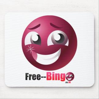 Free Bingo Mascot & Logo Mouse Mat