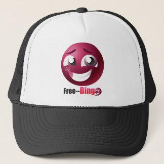 Free Bingo Mascot & Logo Trucker Hat