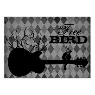 Free Bird Chubby Business Cards