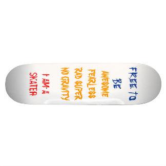 FREE BOARD SKATE BOARD DECKS