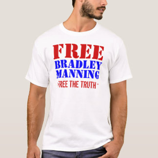 Free Bradley Manning T-Shirt