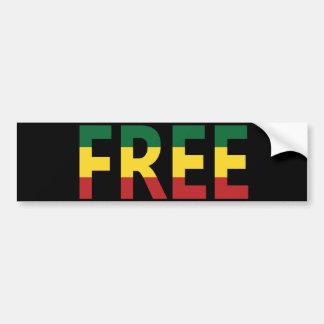 """Free"" Bumper Sticker"