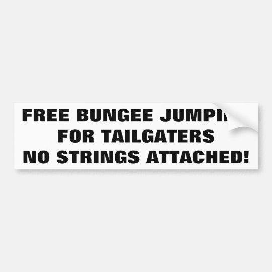 Free Bungee Jumping For Tailgaters No Strings Bumper