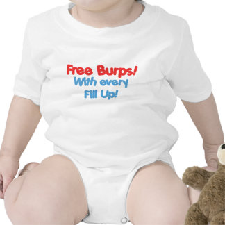 Free Burps with Every Fill Up Rompers