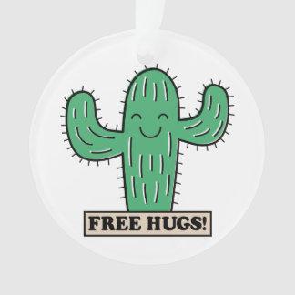 Free Cactus Hugs ornament