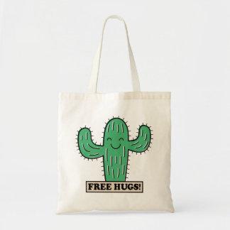 Free Cactus Hugs tote bags