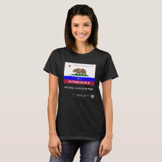 Free California Republic deluxe women's t-shirt