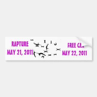 FREE CAR BUMPER STICKER