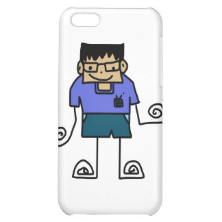 Free Characters by Jaidee Family iPhone 5C Cases