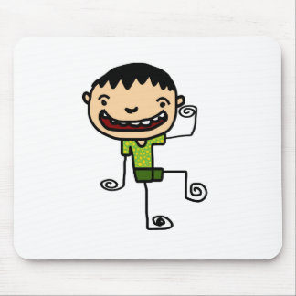 Free Characters by Jaidee Family Mousepad
