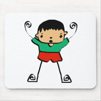 Free Characters by Jaidee Family Mouse Pads