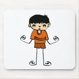 Free Characters by Jaidee Mouse Pad