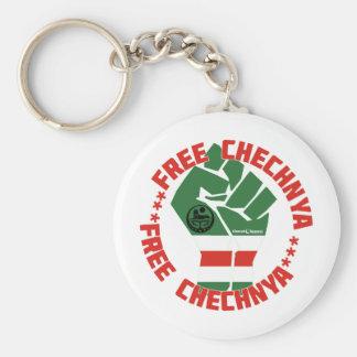 Free Chechnya Key Ring