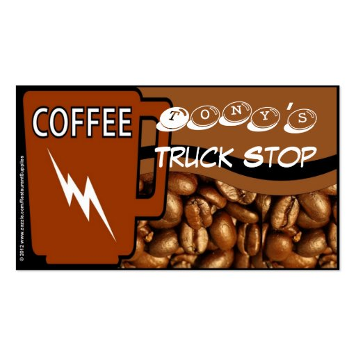 Free Coffee Card 9 Punch Two Sided Business Card Template