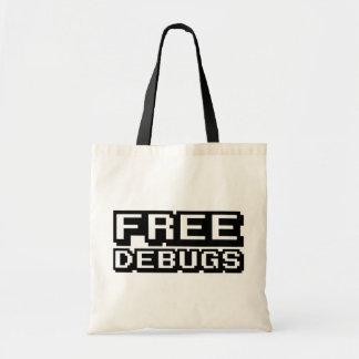 FREE DEBUGS BUDGET TOTE BAG