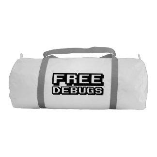 FREE DEBUGS GYM DUFFEL BAG